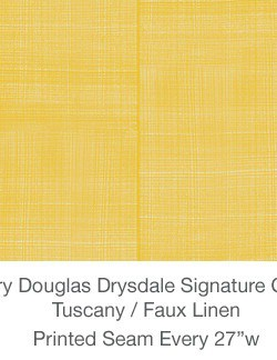 Casart MDD Mary Douglas Drysdale Signature Color Tuscany Casart Faux Linen 2x
