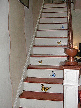 Casart Custom Stairs Butterflies