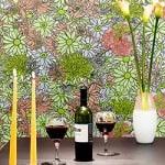 Casart Flower Power_Botanicals_ Renters Dining Room View_5