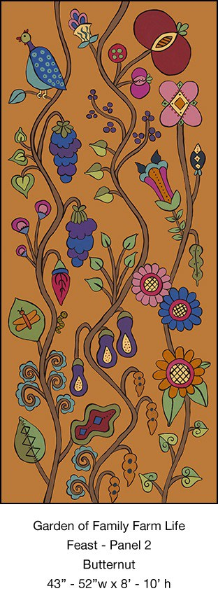 Casart Feast Mural 1 Butternut Kristin Nicholas_5x