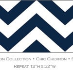 Casart coverings Sailor Blue Chic-Chevron_Libby Langdon Collection_2x