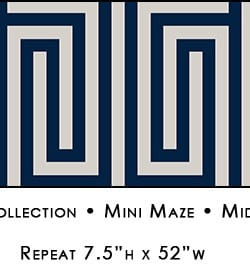 Casart coverings Midnight & Pewter Mini Maze_Libby Langdon Collection_2x