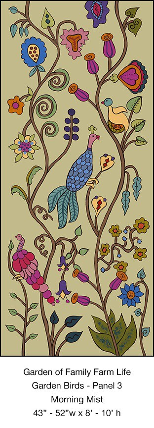 Casart Garden Birds Mural 3_Morning Mist_Kristin Nicholas_4x