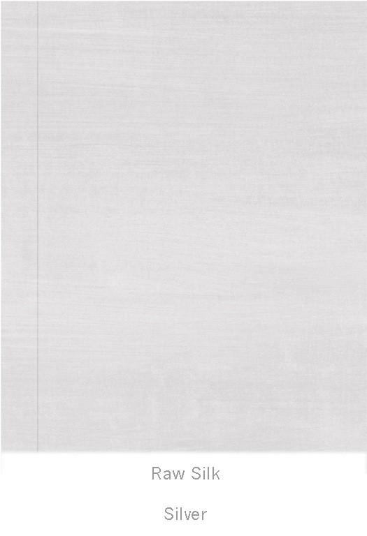 Casart coverings Silver Raw Silk_Organics_4x