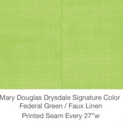 Casart MDD Mary Douglas Drysdale Federal Green Signature Color Faux Linen_6x