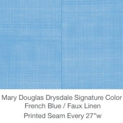 Casart MDD Mary Douglas Drysdale Signature Color French Blue Casart Faux Linen 7x