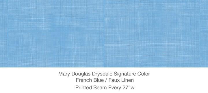 Casart MDD Mary Douglas Drysdale Signature Color French Blue Casart Faux Linen 7x
