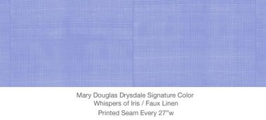 Casart MDD Mary Douglas Drysdale Signature Color Whispers of Iris Casart Faux Linen 9x