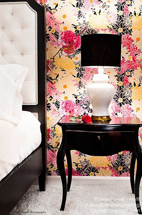 Casart Flower Power_Botanicals_ Bedroom View
