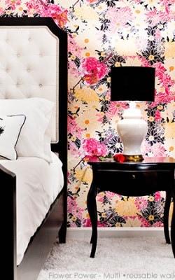 Casart Flower Power_Botanicals_ Bedroom Eye Pillow View