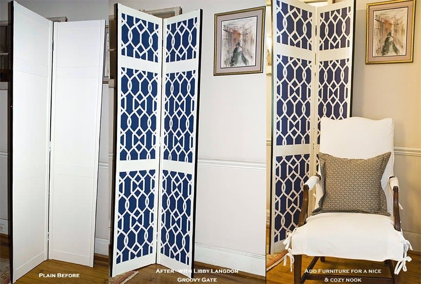 Casart Screen Before-After Libby Langdon Groovy Gate