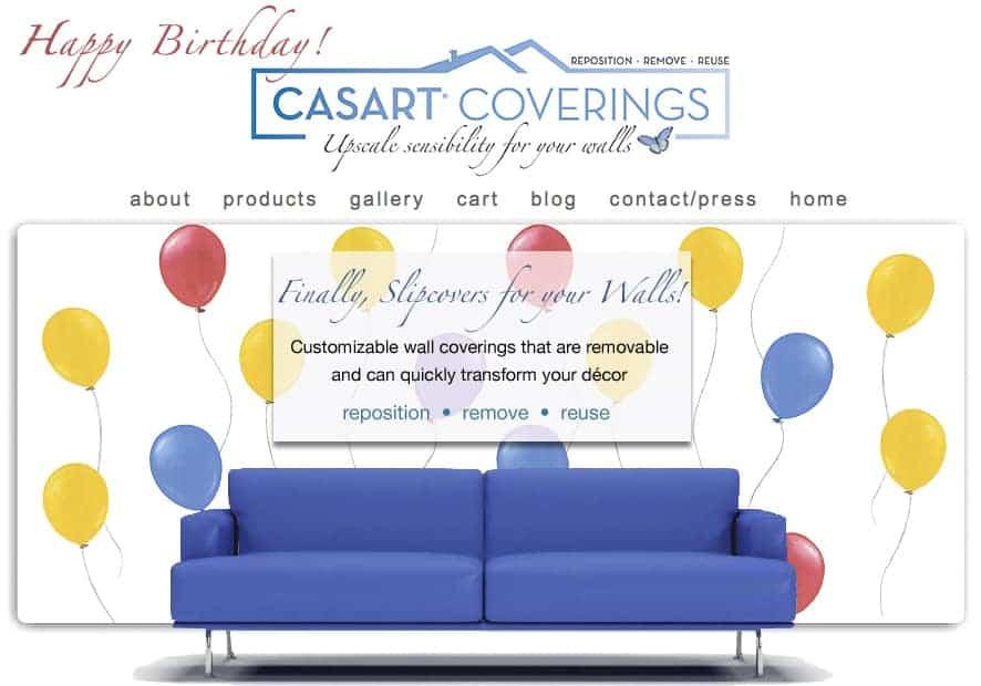 Casart Coverings Birthday eGift Card