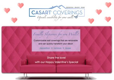 Casart Coverings Valentines Day Gift Card