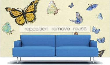 Casart Custom Butterfly Composite design with sofa