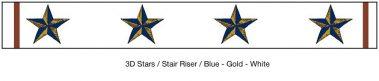 Casart_3D Star_StairRiser_Architectural_1x