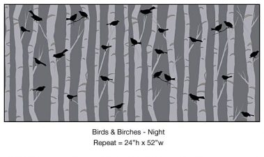 Casart_BirdsBirch Night_ Detail 6x