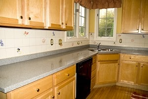 Casart_Custom-Faux-Tile_Backsplash-After_Room View