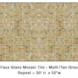 Casart_Mulit-colored Faux Glass Tile_Architectural_1x