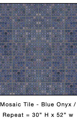 Casart_Blue Onyx Faux Glass Tile_Architectural_9x