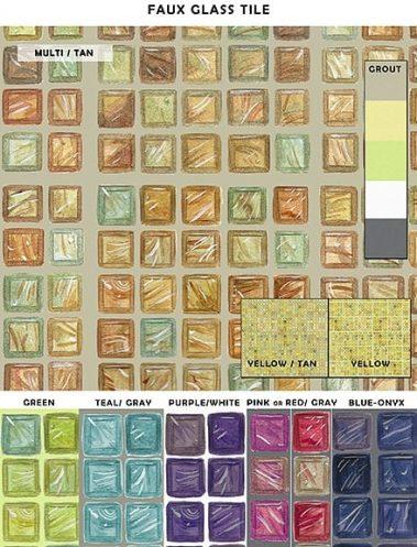 Casart_Faux Glass Tile_Sample