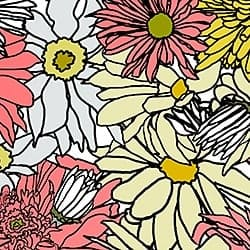 Casart_FlowerPower Multicolored - Botanicals C_1