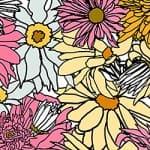 Casart_Multi-Bold Pink Yellow Flower Power - Bontanicals C_2