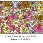Casart_Multi-Bold Pink Yellow Flower Power- Bontanicals C_2x