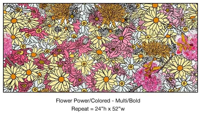 Casart_Multi-Bold Pink Yellow Flower Power- Bontanicals C_2x