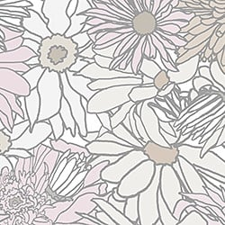 Casart_Mult-Colored Muted Flower Power - Bontanicals C_3