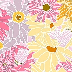 Casart_Multicolored_ White-Pink Flower Power - Botanicals C_4