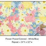 Casart_Colored White-Blue Flower Power- Bontanicals C_7x