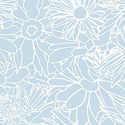 Casart_White on Light Blue Flower Power Botanicals_3