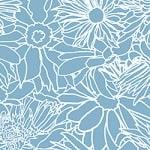 Casart_White on Medium Blue Flower Power_4
