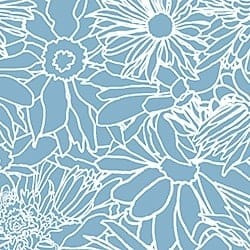 Casart_White on Medium Blue Flower Power Botanicals_4