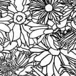 Casart_Black & White Flower Power_6