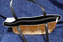 Casart Cotillion Gulf Coast Recovery Carryall zipper detail