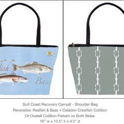 Casart_GCR_Redfish Bass Carryall_8x