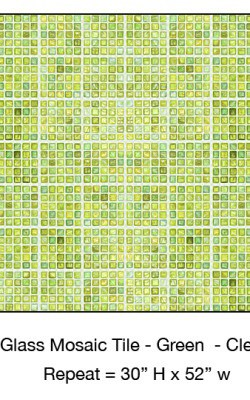 Casart_Green Faux Glass Clear Grout Tile_3-bx_Architectural