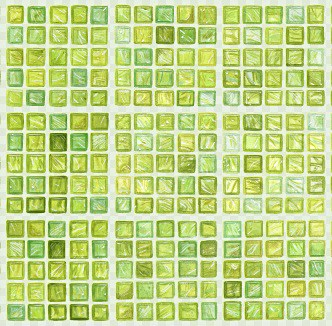Casart_Green FauxGlass Clear Grout Tile_3-b_Architectural