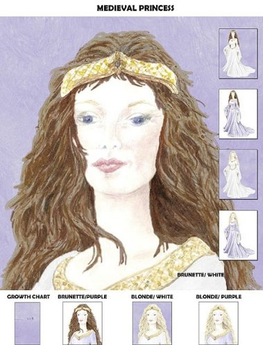 Casart Medieval Princess - T# Collection