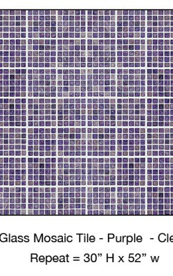 Casart_Purple Faux Glass Clear Grout Tile_5-bx