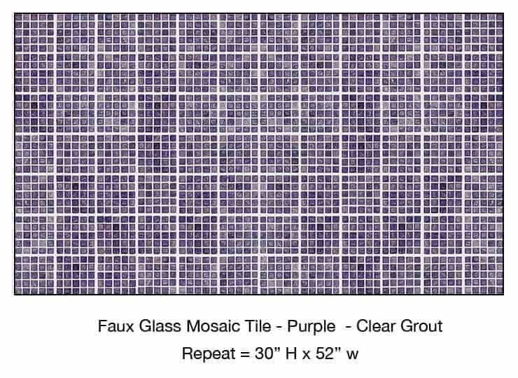 Casart_Purple Faux Glass Clear Grout Tile_5-bx
