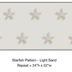 Casart_Starfish Pattern Light Sand Detail_1x
