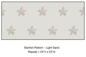 Casart_Starfish Pattern Light Sand Detail_1x