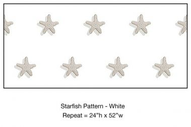 Casart_Starfish Pattern White Detail_5x