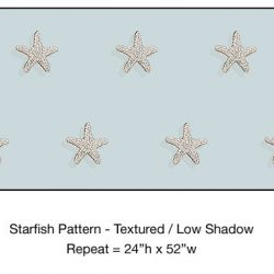 Casart_Textured Starfish Pattern Low Shadow Detail_7x