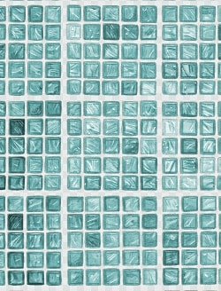Casart_Teal Faux Glass Clear Grout Tile_4-b_Architectural