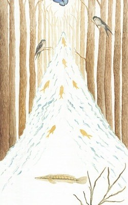 Casart_Woodland Stream_StairMural_full