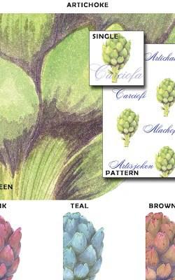 Casart_Artichoke - Botanicals_Sample