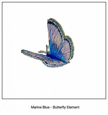 Casart_Marine Blue Butterfly Detail_10x